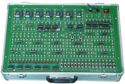 产品介绍: dice-3g型数字逻辑实验箱是一种普及型数字电路实验仪,专