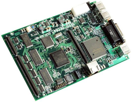 板上主处理器dm643性能指标:专用于数字媒体应用的高