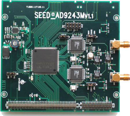 DSPballbetapp系统  SEED-AD9243MS