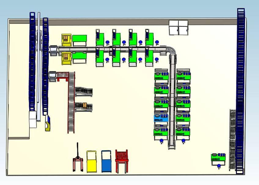 生产运走与仓储物流亚博亚博官网室建设方案